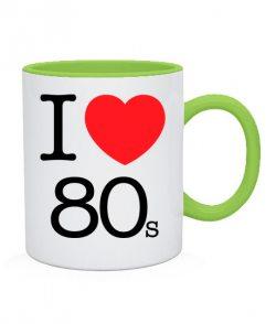 Чашка I love 80s