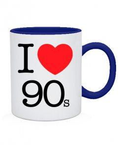 Чашка I love 90s