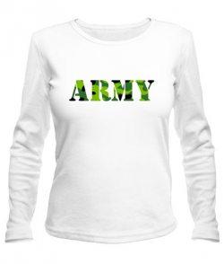 Женский лонгслив ARMY