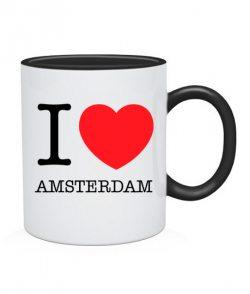 Чашка I love Amsterdam
