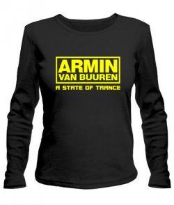 Женский лонгслив Armin Van Buuren (Армин Ван Бюрен) №4