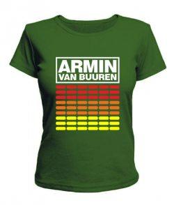 Женская футболка Armin Van Buuren (Армин Ван Бюрен) №2