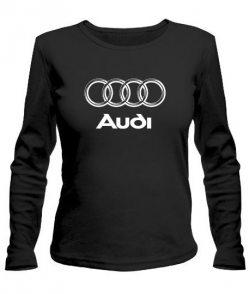 Женский лонгслив Ауди (Audi)