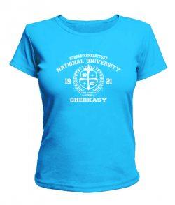 Женская футболка Черкаський національний універ