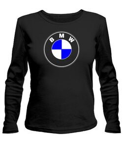 Женский лонгслив BMW