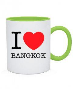 Чашка I love Bangkok