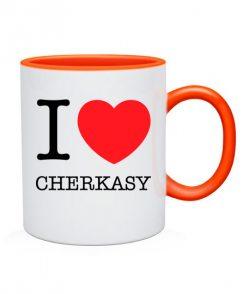 Чашка I love Cherkasy