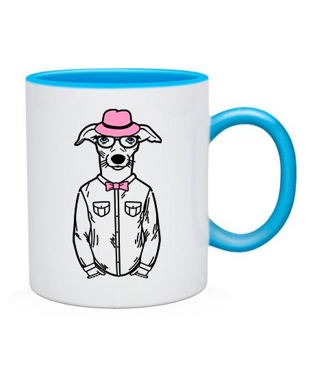 Чашка Хипстер-DOG №3