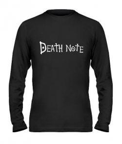 Мужской Лонгслив Death note