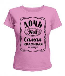 Женская футболка Дочь №1