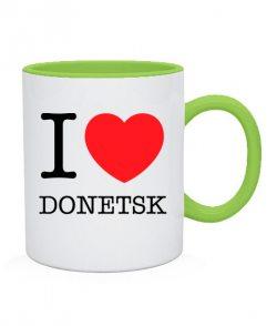 Чашка I love Donetsk