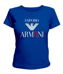 Женская футболка EMPORIO ARMЯNI