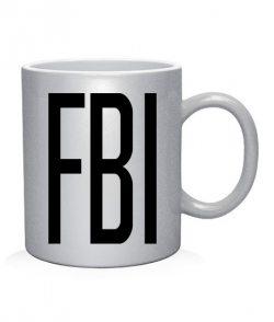 Чашка арт FBI 2