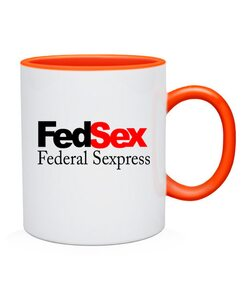 Чашка FedSex-Federal Sexpress