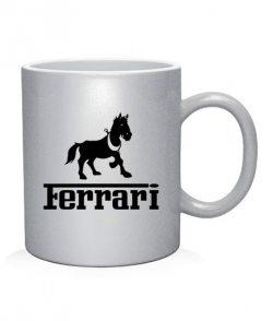 Чашка арт Ferrari