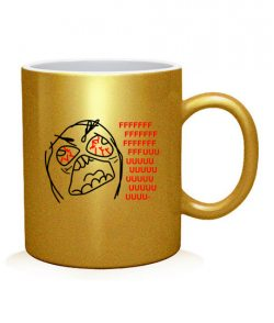 Чашка арт FFFUUU