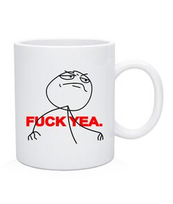 Чашка Fuck yea