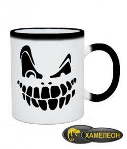 Чашка хамелеон Halloween №8
