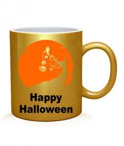 Чашка арт Happy Halloween