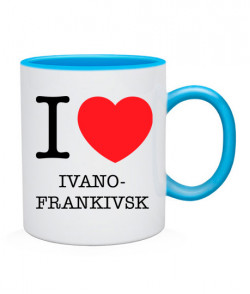 Чашка I love Ivano-Frankivsk