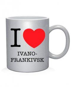 Чашка арт I love Ivano-Frankivsk