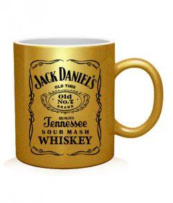 Чашка арт Jack Daniels old time