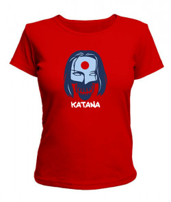 Женская футболка Suicide Squad KATANA