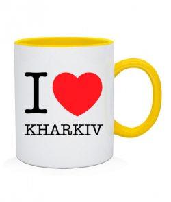 Чашка I love Kharkiv