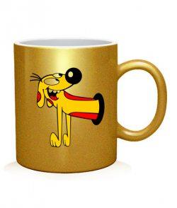 Чашка арт КотоПес (для него)