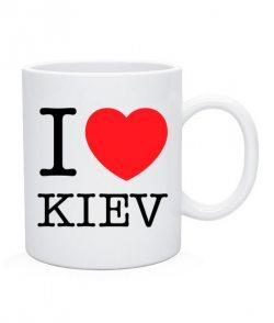 Чашка I love Kiev