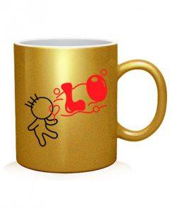 Чашка арт LO-VE (для него)