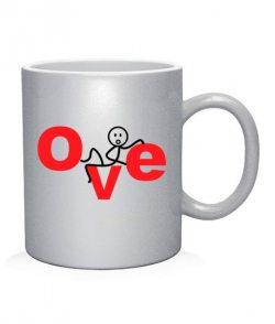 Чашка арт L-OVE (для него)