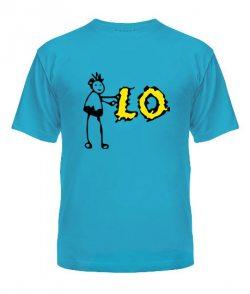 Мужская футболка L-O-V-E