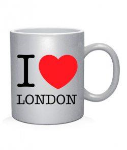 Чашка арт I love London