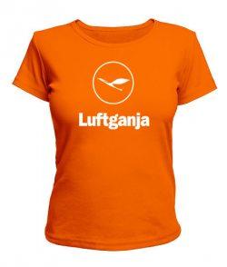 Женская футболка Luftganja