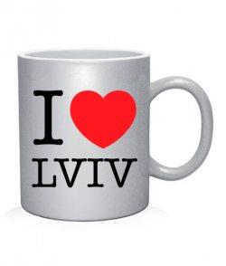 Чашка арт I love Lviv