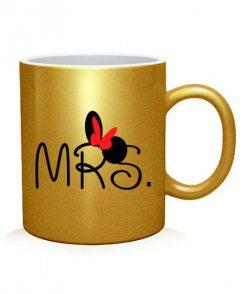 Чашка арт MR.MRS (для нее)