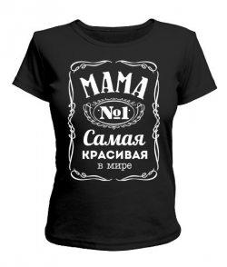 Женская футболка Мама №1