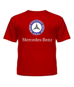 Футболка детская Mercedes-benz