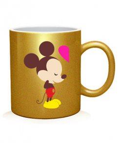 Чашка арт Микки Маус. Любовь (для него)