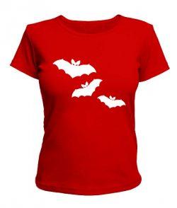 Женская футболка Летучие мыши №1
