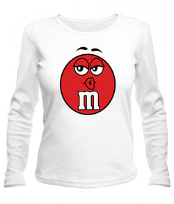 Женский лонгслив M&M's