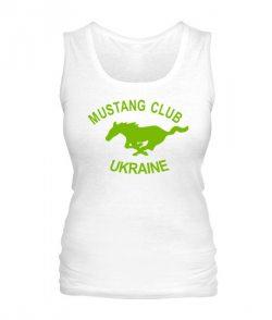 Женская майка Mustang Club Ukraine