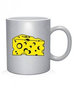 Чашка арт Сыр и мышь (для него)