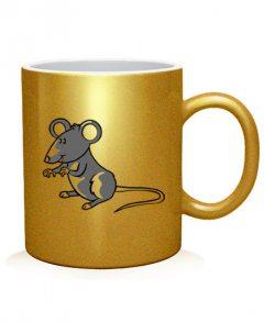 Чашка арт Сыр и мышь (для нее)