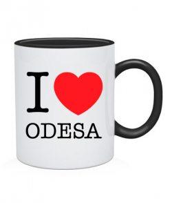 Чашка I love Odesa