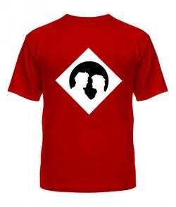 Мужская футболка Виртуальная любовь