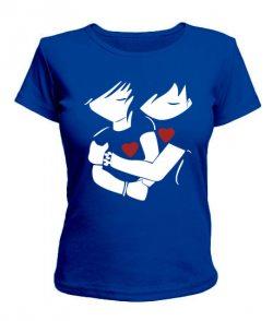 Женская футболка Пара влюбленных