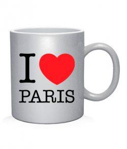 Чашка арт I love Paris