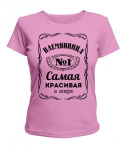 Женская футболка Племянница №1